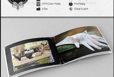 فایل لایه باز ایندیزاین آلبوم عکس عروسی -طرح کلاسیک