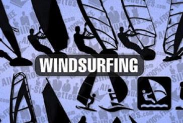 دانلود وکتور های بادبانی – Windsurfing Vector