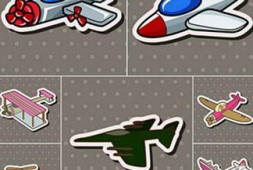 دانلود وکتور های هواپیما – طرح کارتونی