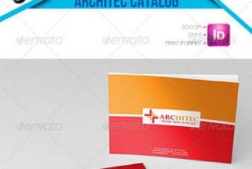 فایل لایه باز ایندیزاین کاتالوگ معماری