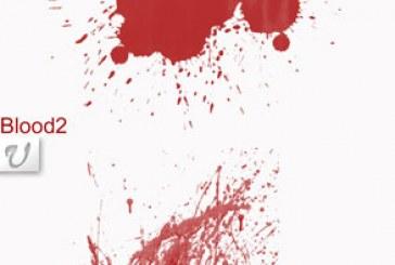 براش های فتوشاپ پاشیده شدن خون – شماره 2
