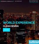 دانلود قالب سایت HTML تک صفحه ای - Business Technology