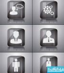 دانلود آیکون های تاجر - Businessman Icon