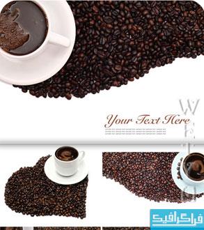 دانلود تصاویر استوک قهوه و فنجان قهوه
