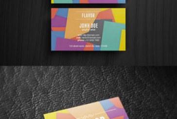 دانلود کارت ویزیت رنگارنگ – شماره 4