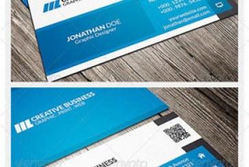کارت ویزیت شرکتی – شخصی – شماره 48