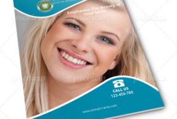 فایل لایه باز ایندیزاین بروشور دندان پزشکی