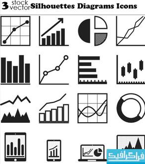 دانلود آیکون های نمودار Diagram Icons - شماره 2