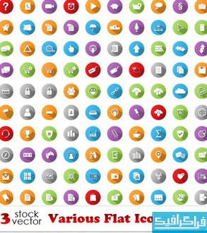 دانلود آیکون های تخت - Flat Icons – شماره 17