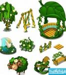 دانلود وکتور های عناصر بازی کارتونی
