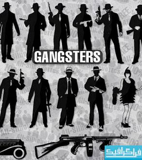 دانلود وکتور های گانگستر - Gangster Vectors