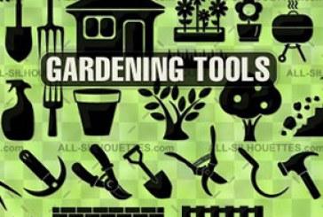 دانلود وکتور های وسایل باغبانی – Gardening Tools