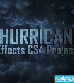 دانلود پروژه افتر افکت نمایش متن طوفانی