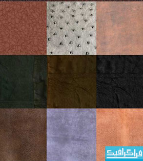 دانلود تکسچر های چرم Leather Texture - شماره 6