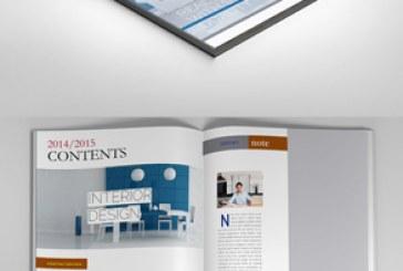 فایل لایه باز این دیزاین قالب مجله – شماره 2