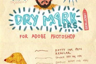 دانلود براش های فتوشاپ ماژیک – Marker