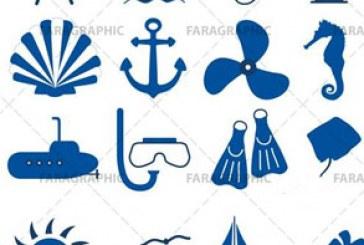 دانلود آیکون های دریانوردی – Nautical Icons