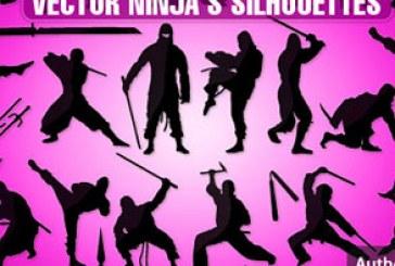 دانلود وکتور های نینجا – Ninja Vectors