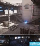 دانلود مدل سه بعدی محیط تخیلی Unreal Engine 4