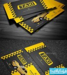 دانلود کارت ویزیت تاکسی - Taxi Business Card