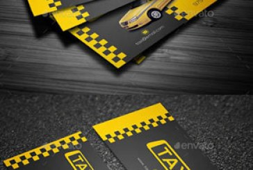 دانلود کارت ویزیت تاکسی – Taxi Business Card