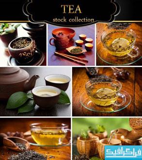 دانلود تصاویر استوک چای و کتری - Tea & Kettle