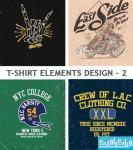 دانلود وکتور طرح های تی شرت - شماره 2