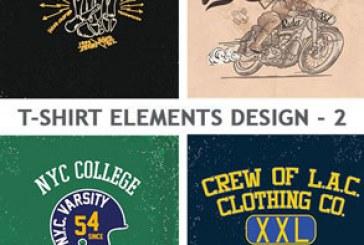 دانلود وکتور طرح های تی شرت – شماره 2