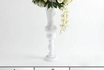 دانلود مدل های سه بعدی گلدان و گل
