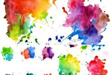 دانلود وکتور لکه های آبرنگ – Watercolor Blot