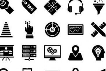 دانلود آیکون های محیط وب – رنگ سیاه