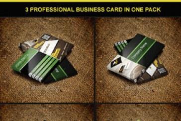 دانلود 3 کارت ویزیت شرکتی حرفه ای – شماره 4