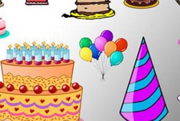 دانلود براش های فتوشاپ کیک تولد