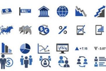 دانلود آیکون های تجاری – رنگ آبی