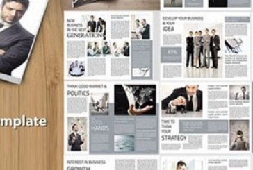 فایل لایه باز این دیزاین قالب مجله – شماره 3