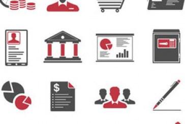 دانلود آیکون های تجاری – قرمز و سیاه