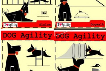 دانلود وکتور طرح های مهارت سگ