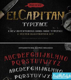 دانلود فونت انگلیسی El Capitan