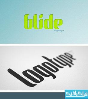 دانلود فونت انگلیسی گرافیکی Glide