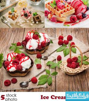 دانلود تصاویر استوک بستنی - Ice Cream Stock