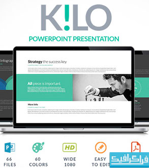دانلود قالب پاورپوینت شرکتی حرفه ای Kilo
