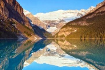 دانلود والپیپر انعکاس آسمان در دریاچه