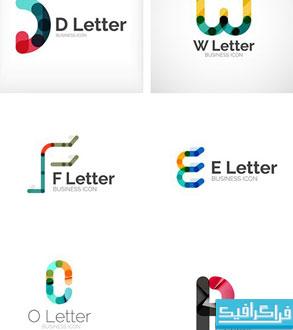 دانلود لوگو های حروف انگلیسی - شماره 2