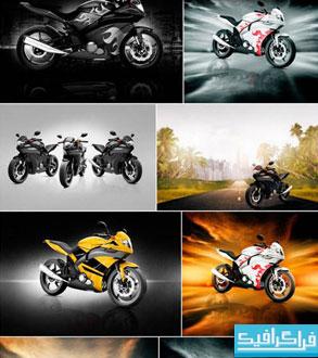 دانلود تصاویر استوک موتور سیکلت