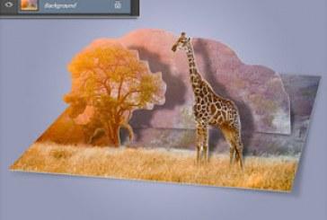 اکشن فتوشاپ ساخت طرح چند لایه تصویر
