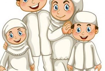 دانلود وکتور های خانواده مسلمان