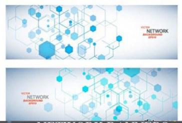 دانلود وکتور بنر های شبکه – Network Banners