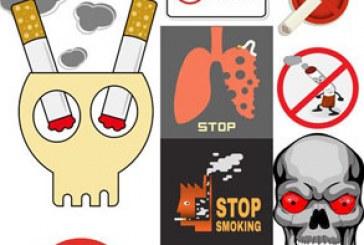 دانلود وکتور های سیگار کشیدن ممنوع