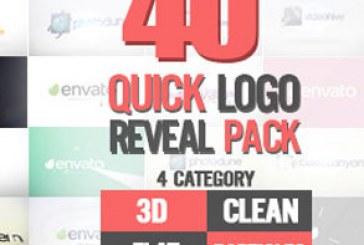 دانلود 40 پروژه افتر افکت نمایش لوگو سریع