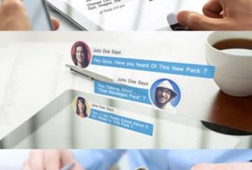 پروژه افتر افکت نمایش پیام های چت